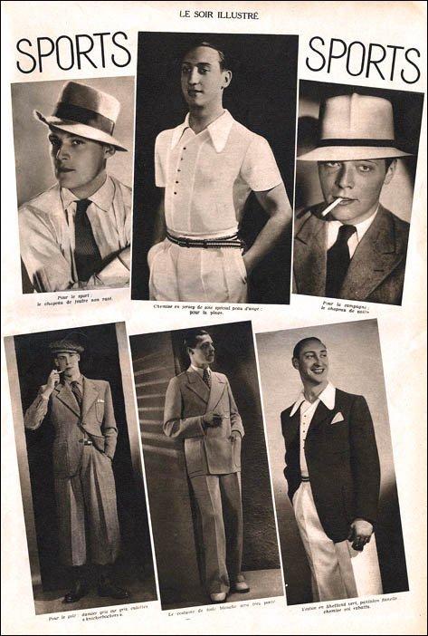 先日、スイングダンスを取り上げましたが、何人かの男性ダンサーがワイドレグパンツを穿いているのに気が付きました? 今回は1930年代のヤングなメンズの ファッション