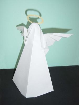 ハート 折り紙 折り紙 天使 折り方 : artpepper.ti-da.net