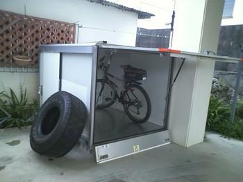 結丸日誌:自転車庫