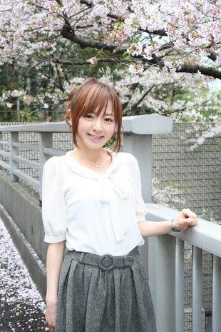 桜と紺野アナ
