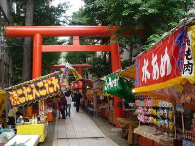 新宿花園神社は今週末お祭りです。|ねむの木便り ~新宿御苑 ...