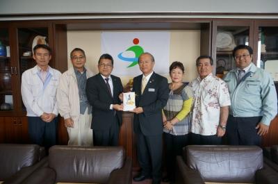 沖縄クリーン工業のブログです:うるま市長表敬訪問致しました