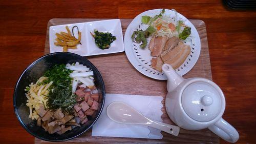 大笑 琉球豚飯