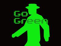 信号機Tシャツ GO GREEN