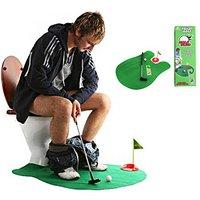 トイレでゴルフ・・・・面白い