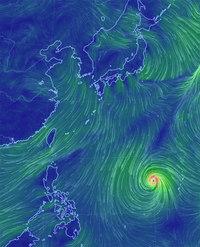 2月に台風~?