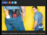 ズボンの「ケツポケット」が大きかったら・・・・面白い