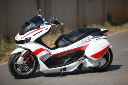 Thai・pcxカスタムバイク13 Honda・pcx情報