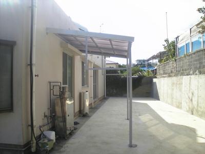 洗濯物干し場:沖縄リフォームあれこれ
