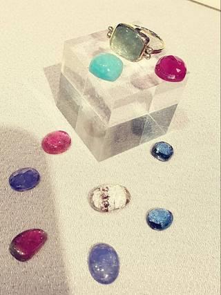 井手望さん シルバーアクセサリー 指輪 やさしさ in天然香房 沖縄市 ジュエリー